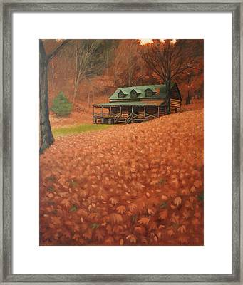 October Weekend Framed Print by Suzanne Shelden