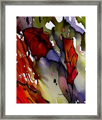 Octoberfirst Framed Print by Susan Kubes