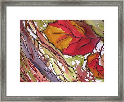 Octobersecond Framed Print by Susan Kubes