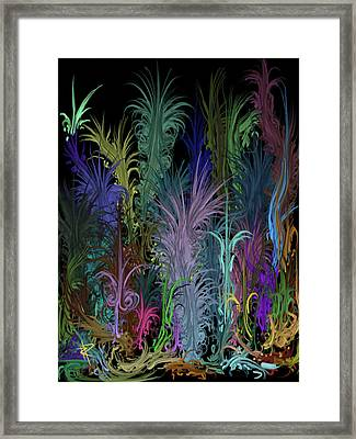 Octopus' Garden Framed Print by Russell Pierce