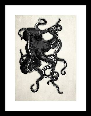 Octopus Framed Prints