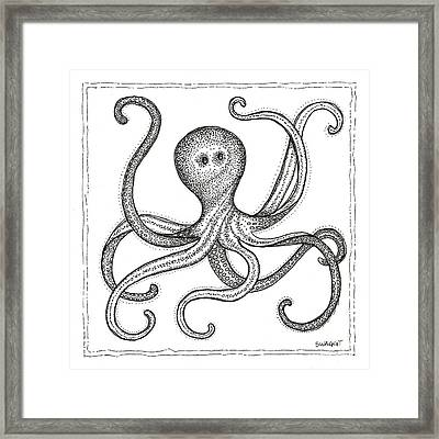 Octopus Framed Print by Stephanie Troxell