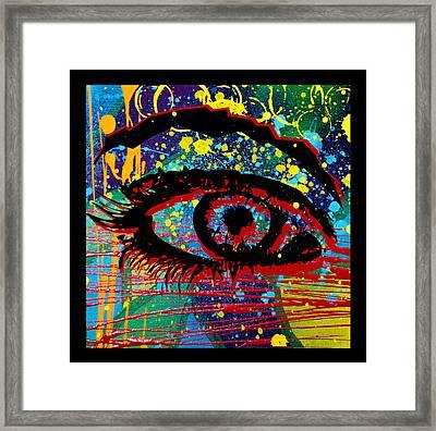 Ocularity  Framed Print