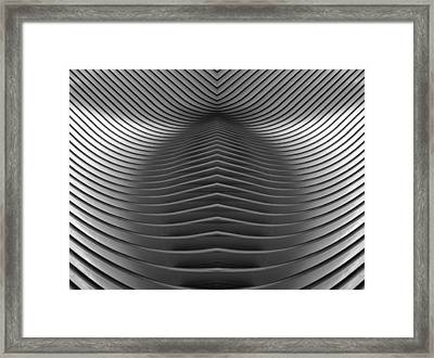 Oculus Abstract Framed Print