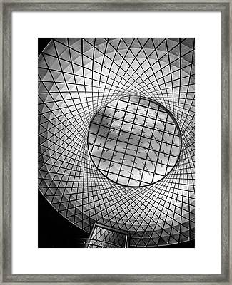Oculus Light Framed Print by Jessica Jenney