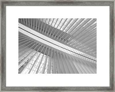 Oculus Skylight 2 Framed Print by Jessica Jenney