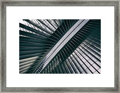Oculus Skylight Framed Print