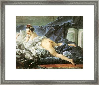 Odalisque 1745 Framed Print by Francois Boucher