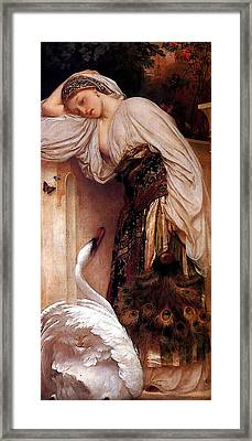 Odalisque  Framed Print by Lord Frederick Leighton