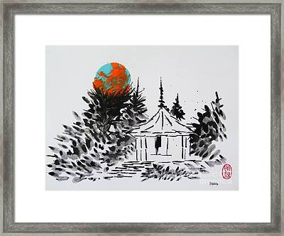 Framed Print featuring the painting Odawara Ijo No Burumun by Roberto Prusso