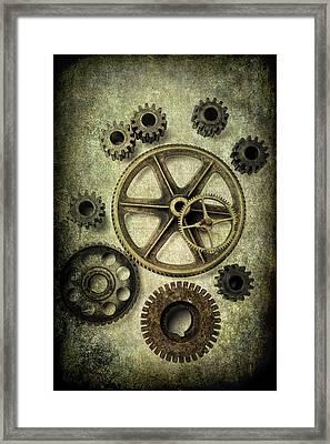 Odd Gears Framed Print