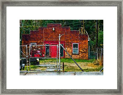 Odd Little Place Framed Print by Christopher Holmes