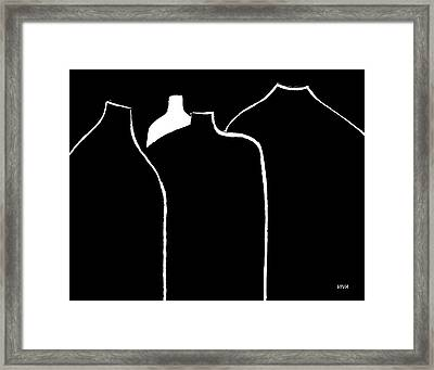 Odd Man Out Framed Print by VIVA Anderson