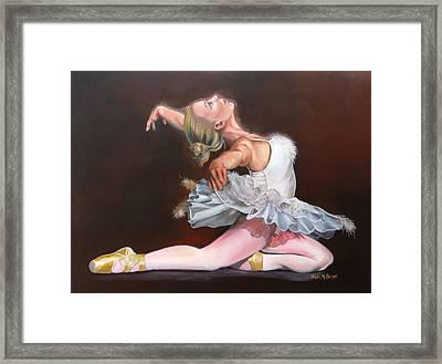 Oddette Framed Print by Phyllis Beiser