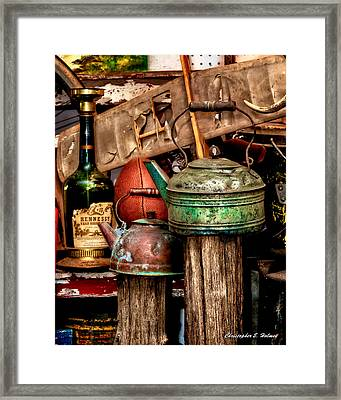 Odds And Ends Framed Print
