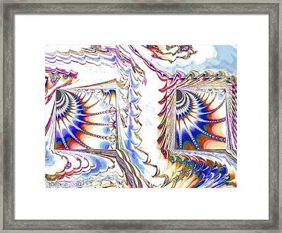 Odds And Ends Framed Print