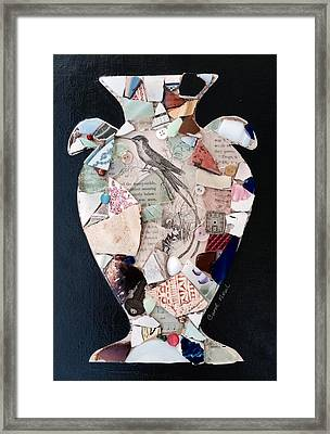 Ode To A Broken Urn Framed Print
