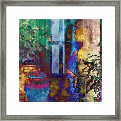 Ode On Another Urn Framed Print