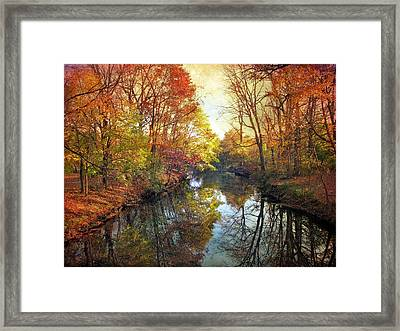 Ode To Autumn Framed Print by Jessica Jenney