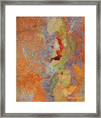 Ode To Fall Framed Print by Desiree Paquette