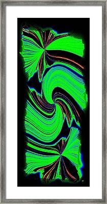 Ode To Green Framed Print