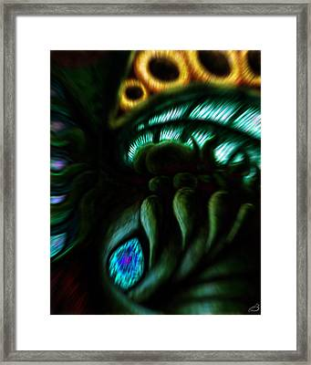 Ode To Lovecraft Framed Print by Jason Breaux