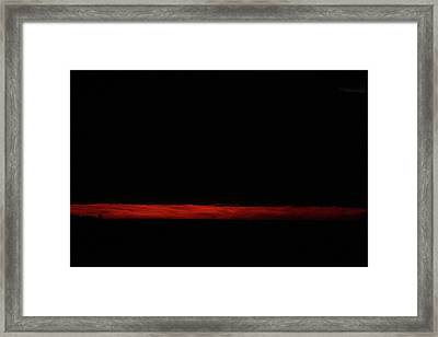 Framed Print featuring the photograph Ode To Rothko by Carol Kinkead