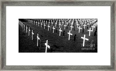 Ode To The Fallen Framed Print