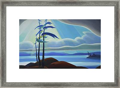 Ode To The North II - Center Panel Framed Print