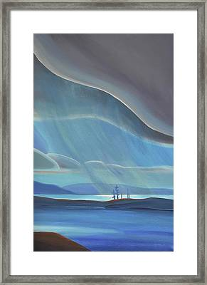 Ode To The North II - Rh Panel Framed Print