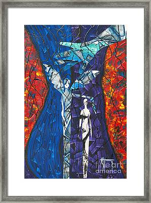 Ode To The Protector Framed Print by Nickola McCoy-Snell