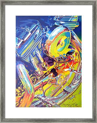 Ode To The Road Framed Print by Don Getz