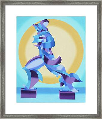 Ode To Umberto Boccioni Framed Print by Mark Webster
