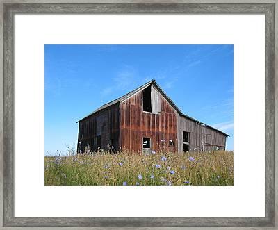 Odell Barn I Framed Print