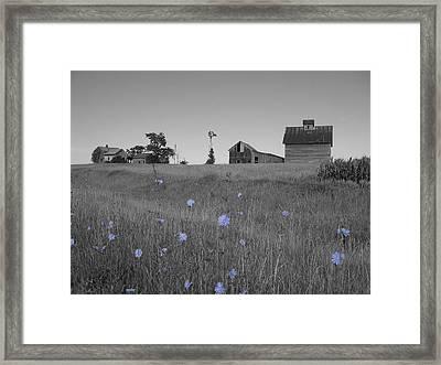 Odell Farm Iv Framed Print
