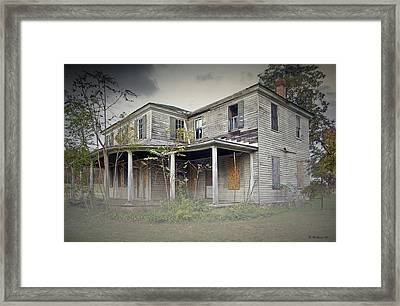 Odenton House Framed Print by Brian Wallace