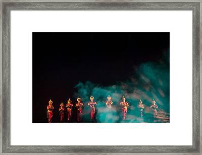 Odissi Princesses Framed Print