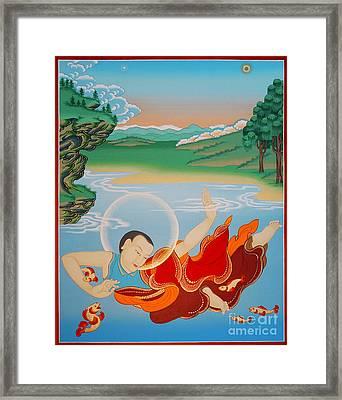 Odren Pelgi Wangchuk Framed Print