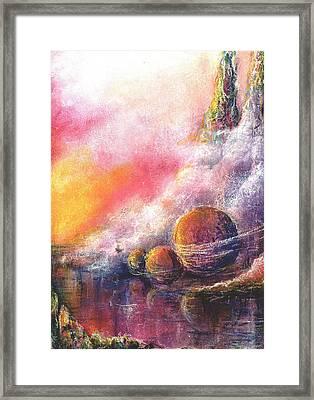 Odyessy Framed Print by Melody Horton Karandjeff