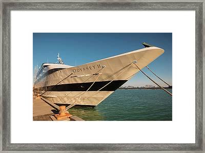 Odyssey Navy Pier Chicago Framed Print by Steve Gadomski