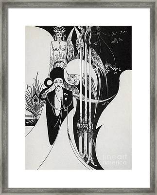 Of A Neophyte And How The Black Art Was Revealed Unto Him Framed Print