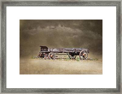 Of Another Time Framed Print by Angie Vogel