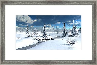 Of Blankets And Sheets Framed Print by Dieter Carlton