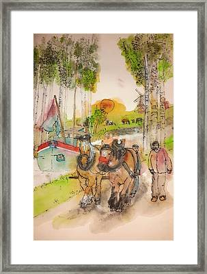 Of Clogs And Windmills Album  Framed Print by Debbi Saccomanno Chan