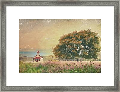 Of Days Gone By Framed Print by Laurie Search