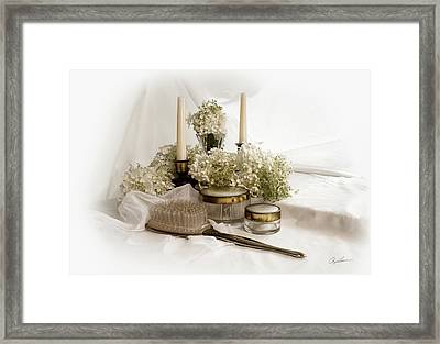 Of Days Past Framed Print by Ann Lauwers