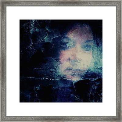 Of Deception Darkly Framed Print by Susan Maxwell Schmidt
