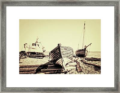 Of Different Eras Framed Print