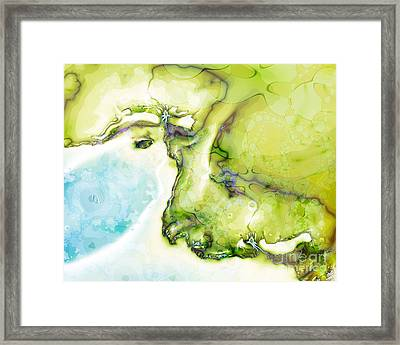 Of Earth And Water Framed Print
