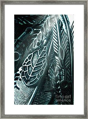 Of Leaves And Feathers Framed Print